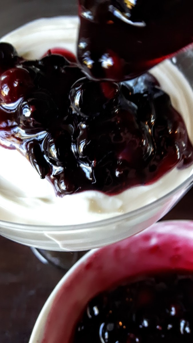 Boozy Preserves: Wildcrafted Berry Compote